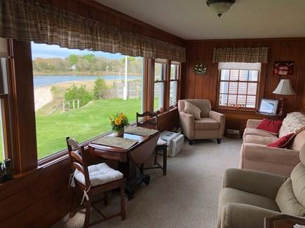 Bourne, Gray Gables Cape Cod vacation rental - Sleep sofa on enclosed porch