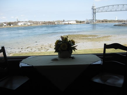 Bourne, Gray Gables Cape Cod vacation rental - Great view of the still-functioning Railroad Bridge