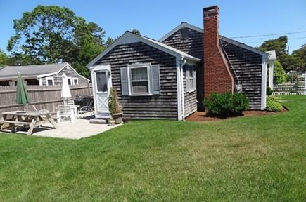 Dennis Cape Cod vacation rental - Side Yard
