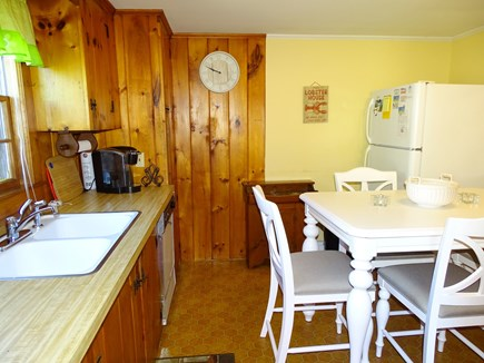 Dennis Cape Cod vacation rental - Kitchen offers all appliances, dining area