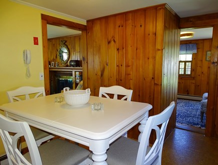 Dennis Cape Cod vacation rental - Dining area