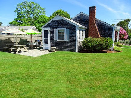 Dennis Cape Cod vacation rental - Plenty of yard for games and play
