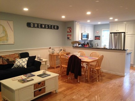 Brewster Cape Cod vacation rental - Living Room and dining area