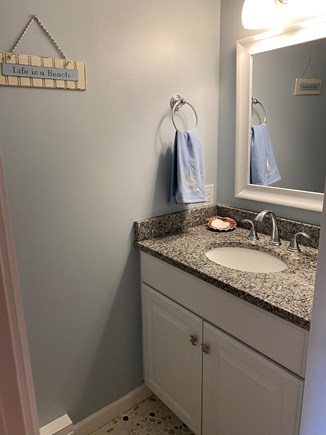 Brewster Cape Cod vacation rental - First floor half bathroom