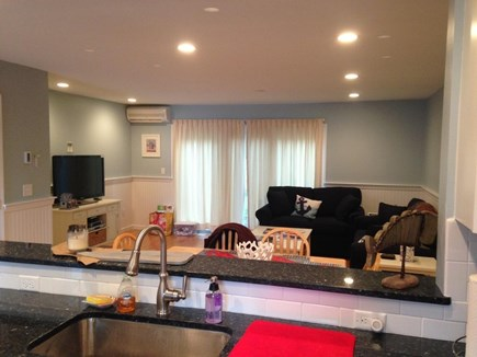 Brewster Cape Cod vacation rental - Living room view from the kitchen