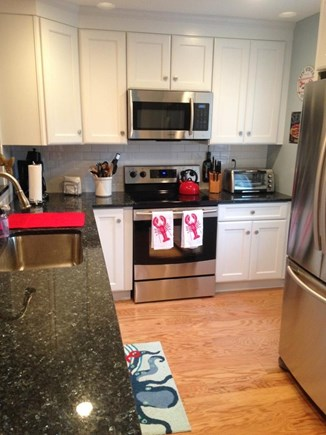 Brewster Cape Cod vacation rental - Stainless steel appliances and granite counter tops