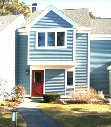 Brewster Cape Cod vacation rental - Front entrance to 2 BR, fully air conditioned townhouse