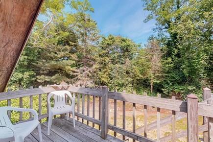Brewster Cape Cod vacation rental - 2nd Floor Bedroom Deck looking East