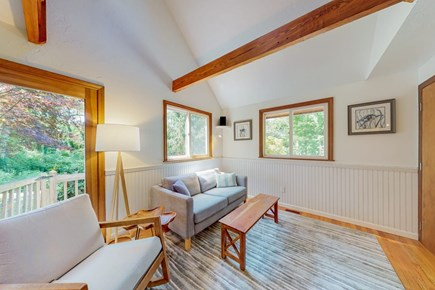 Brewster Cape Cod vacation rental - Cathedral Ceiling Living Room