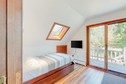 Brewster Cape Cod vacation rental - Twin Trundle Bed 2nd Floor w/ Private Outside Deck