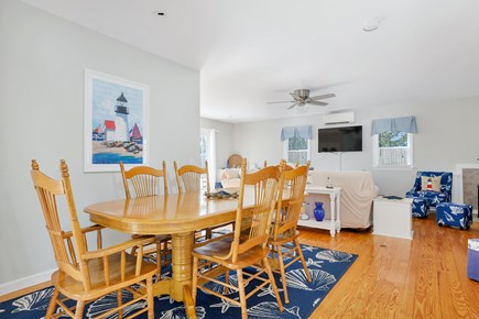 West Dennis Cape Cod vacation rental - Dining area seats 6-8 comfortably