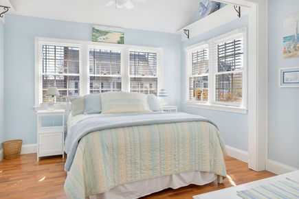 West Dennis Cape Cod vacation rental - 1st Floor: Spacious and bright bedroom with queen bed and sofa