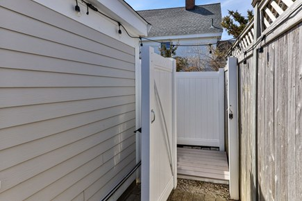 West Dennis Cape Cod vacation rental - Private outdoor shower
