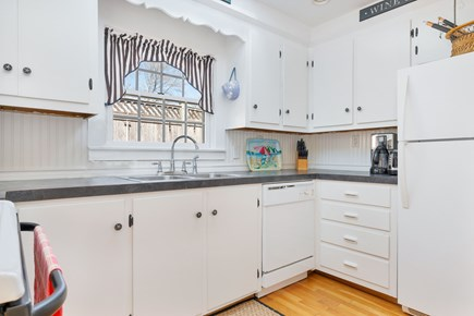 West Dennis Cape Cod vacation rental - Well equipped, bright kitchen