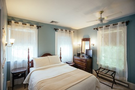 Falmouth Cape Cod vacation rental - Upstairs bedroom with Queen bed & en-suite bathroom