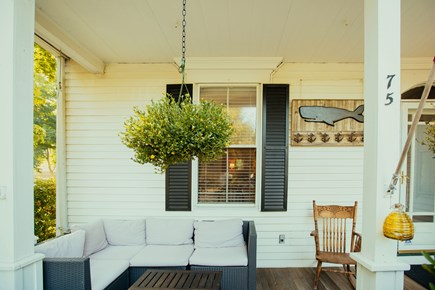 Falmouth Cape Cod vacation rental - Front porch of the inn