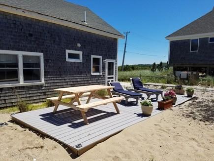 North Truro Cape Cod vacation rental - Private Deck