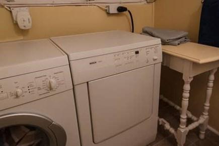 North Truro Cape Cod vacation rental - Laundry Area
