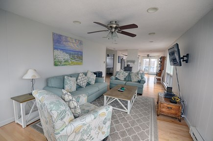 North Truro Cape Cod vacation rental - Great Living Room Space