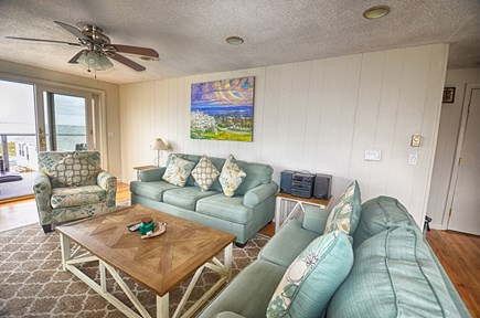 North Truro Cape Cod vacation rental - Relaxing Living Room