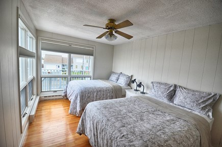 North Truro Cape Cod vacation rental - Second Bedroom with 2 Full/Double Beds