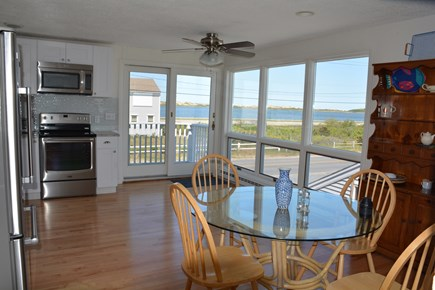 North Truro Cape Cod vacation rental - Kitchen Views of Pilgrim Lake