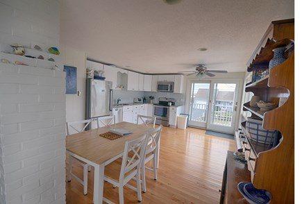 North Truro Cape Cod vacation rental - New Kitchen with amazing views!