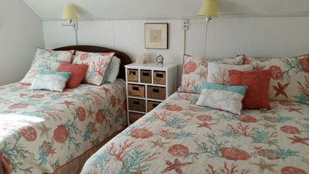 West Dennis Cape Cod vacation rental - 3rd Bedroom, two full beds