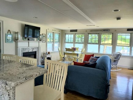 West Dennis Cape Cod vacation rental - Open floor plan with water views