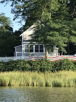 West Dennis Cape Cod vacation rental - Cape Cod Style on salt water tidal cove.
