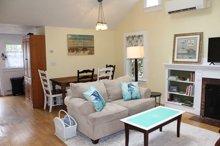 Dennis Port Cape Cod vacation rental - Open living and dining area. Mini-split heating and cooling.
