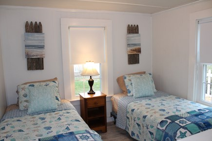 Dennis Port Cape Cod vacation rental - Bedroom with two twin beds.