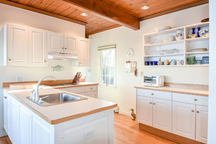 East Harwich Cape Cod vacation rental - Kitchen with all the amenities including a water view