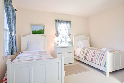 East Harwich Cape Cod vacation rental - First floor bedroom with two twin beds