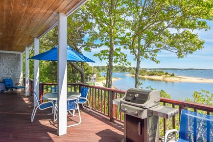 East Harwich Cape Cod vacation rental - Expansive deck for outdoor dining and entertaining