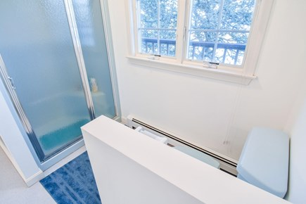 East Harwich Cape Cod vacation rental - Upstairs bathroom with shower and soaking tub