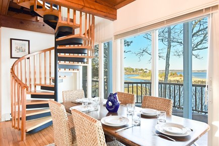 East Harwich Cape Cod vacation rental - Bright and breezy open concept dining area