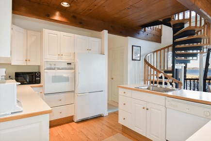 East Harwich Cape Cod vacation rental - Modern, bright, fully stocked kitchen with water views