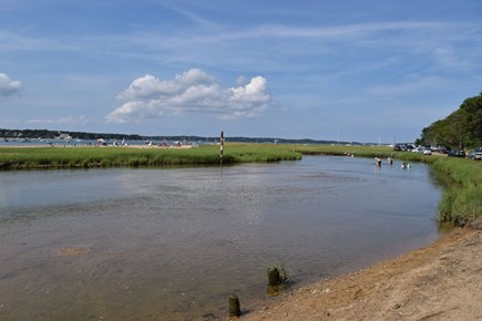 East Harwich Cape Cod vacation rental - Jack Knife Creek -  is just a 5 min. walk or kayak trip away