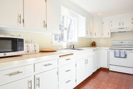 East Harwich Cape Cod vacation rental - Updated bright kitchen with microwave and coffee maker