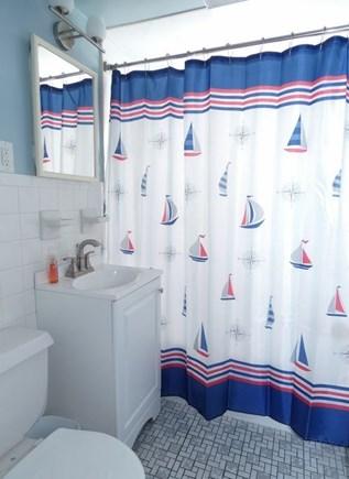 South Yarmouth Cape Cod vacation rental - Full Bathroom 1 has a bathtub
