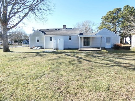 South Yarmouth Cape Cod vacation rental - Huge backyard with cover patio & outdoor shower