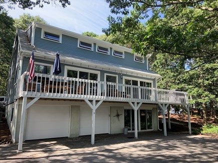 Brewster Cape Cod vacation rental - Back of house with deck