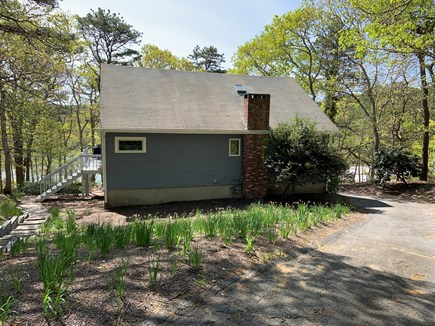 Brewster Cape Cod vacation rental - Front of house with Sheep Pond below