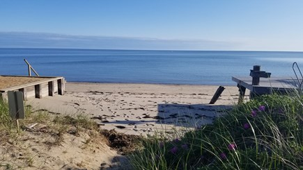 Truro Cape Cod vacation rental - Private beach and deck.