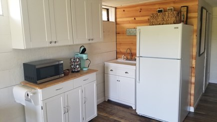 Truro Cape Cod vacation rental - Lower level, includes kitchenette (no oven or stove)