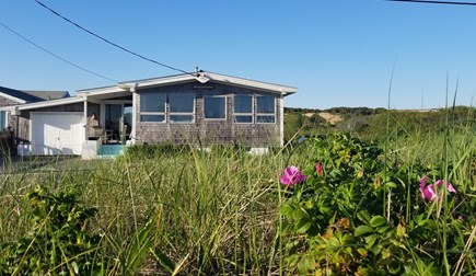 Truro Cape Cod vacation rental - Winterberry...from the beach.