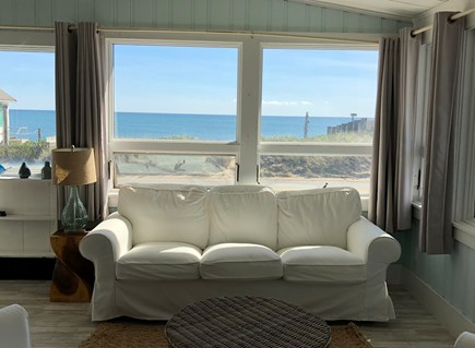 Truro Cape Cod vacation rental - Bay views from the living space.