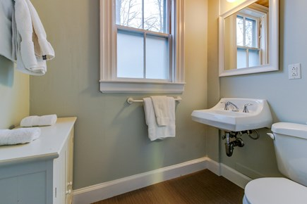 Falmouth Village Cape Cod vacation rental - Clean bathroom with many towels for everyone.