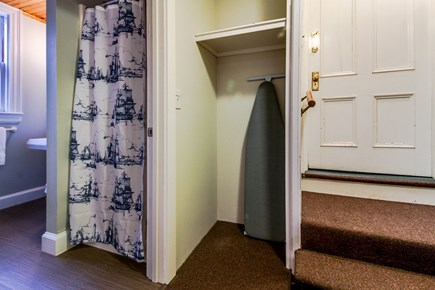 Falmouth Village Cape Cod vacation rental - Bathroom entrance.